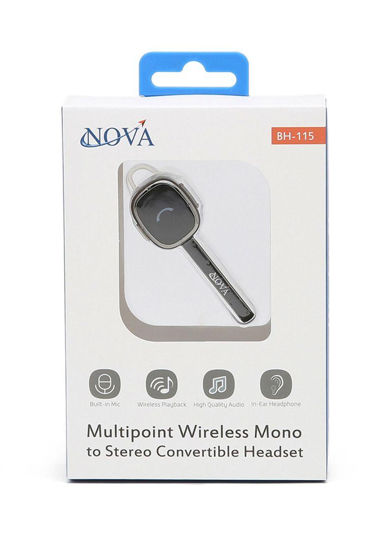 Multipoint Wireless Bluetooth Headset Black Price In Uae Noon Uae Kanbkam