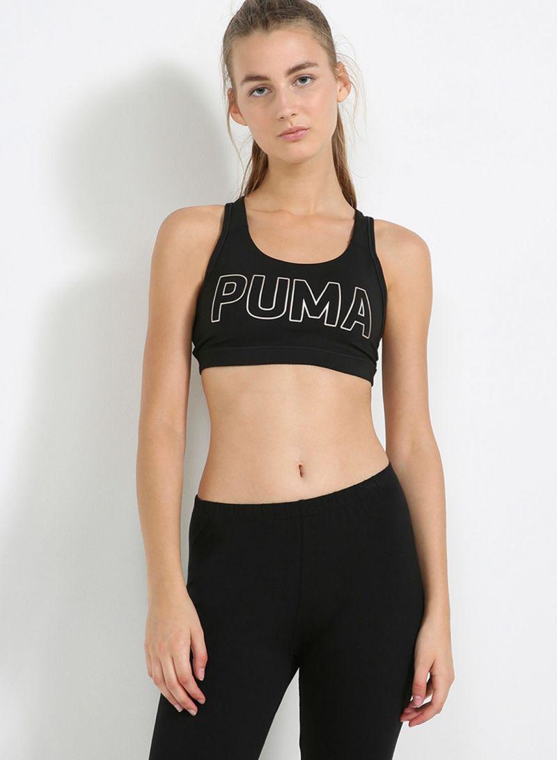 18eca1e510 Shop Puma Powershape Forever - Logo Bra Black Copper online in Dubai ...