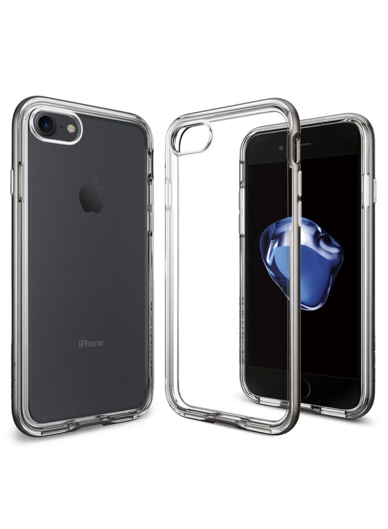 best service 01d64 cafa1 Shop Spigen Neo Hybrid Crystal Cover Case For iPhone 8/iPhone 7 Gunmetal  online in Dubai, Abu Dhabi and all UAE