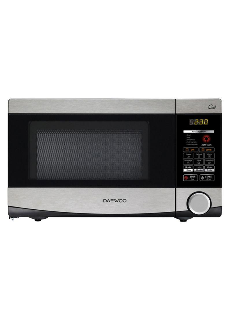 b19e6a4cd9a Shop Daewoo Digital Microwave KQG-6L4B Silver online in Dubai, Abu ...