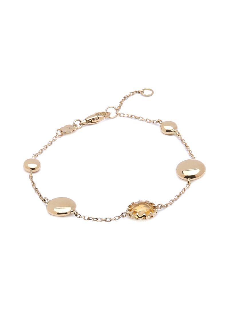 Shop damas Spring 18K Gold Pastel Paradise Citrine Bracelet