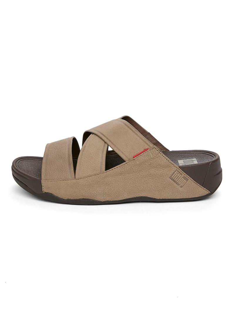ec46f1b2eee Shop fitflop CHI Timberwolf Slide Sandal online in Dubai