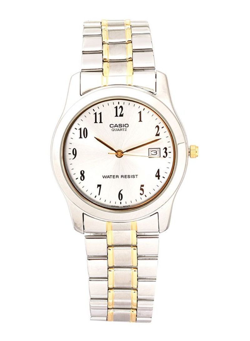 c26cdbb85 Shop Casio Stainless Steel Quartz Analog Watch MTP-1141G-7BRDF ...