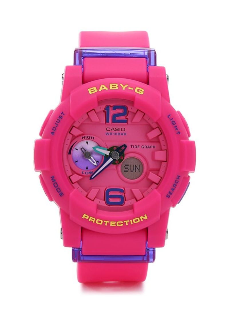 Womens Analog Digital Watch Bga 180 4b3dr Watches Casio Sheen Diamond Shn 5012lp