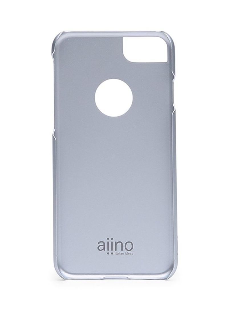 Steel Case For iPhone 8/iPhone 7 Silver
