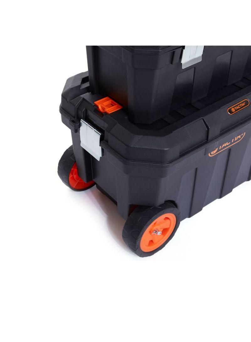 Shop Tactix 2-In-1 Tool Box Set TTX-320310 Black online in Dubai, Abu Dhabi  and all UAE