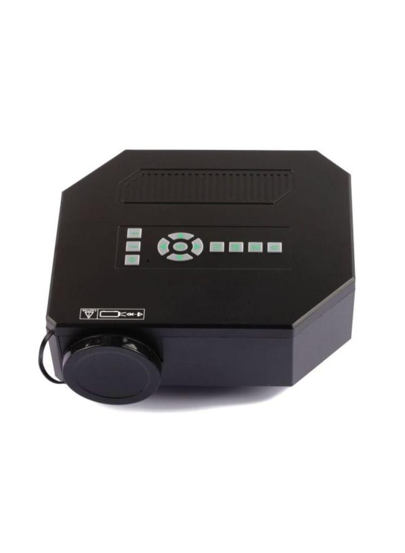 Uc30 Led 150 Lumens Home Mini Projector 30 100 Inch Display Proyektor Unic Uc40 1080p Full Hd Black