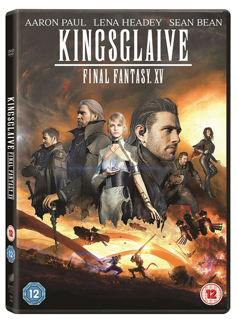 Shop Kingsglaive Final Fantasy Xv Dvd Online In Dubai Abu Dhabi