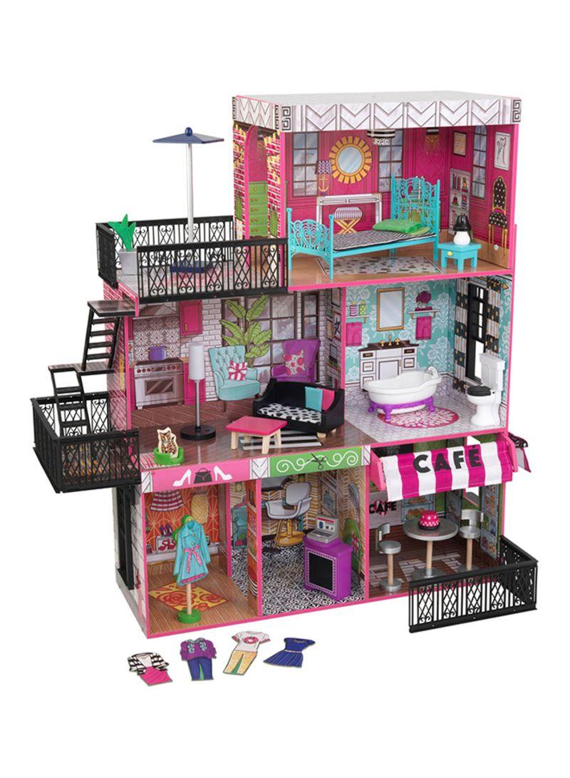 Shop Kidkraft Brooklyn S Loft Dollhouse Online In Dubai Abu Dhabi