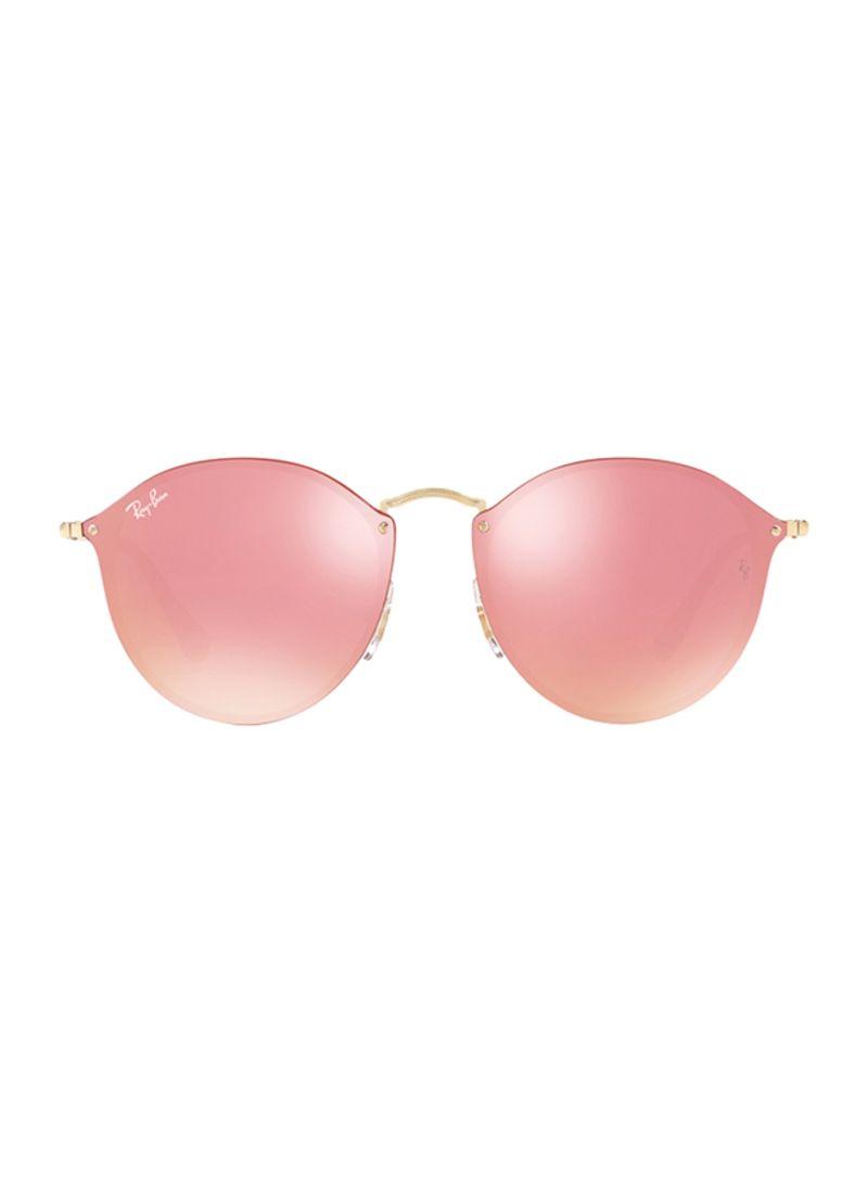 9010d921e1 Shop Ray-Ban Blaze Round Frame Sunglasses RB3574N-001 E4-59 online ...