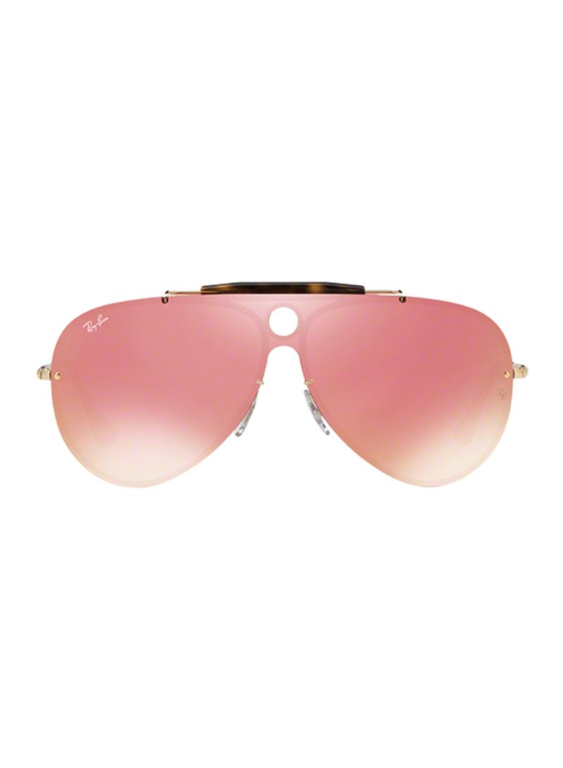67f70a390f Shop Ray-Ban Aviator Frame Blaze Shooter Sunglasses RB3581N-001 E4 ...