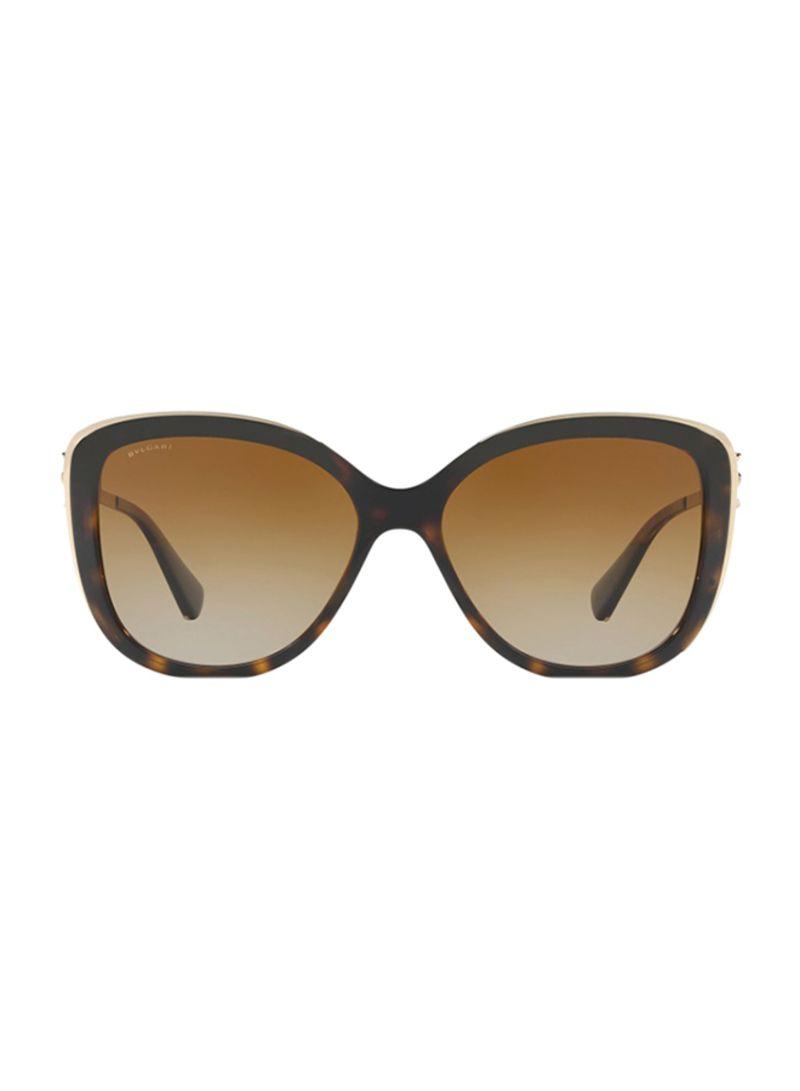 420c8c9ee3b1e Shop BVLGARI Women s Oversized Frame Sunglasses BV6094B-278 T5-57 ...