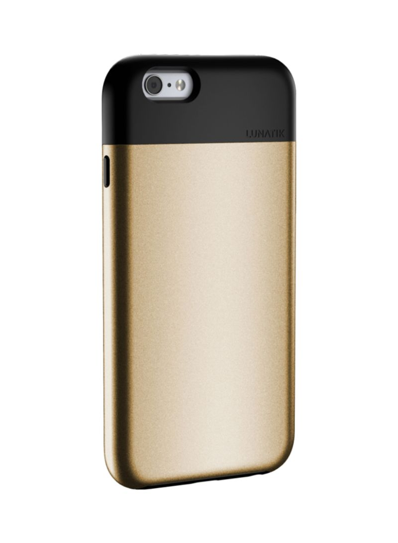 Combination Flak Case For iPhone 6/6s Gold