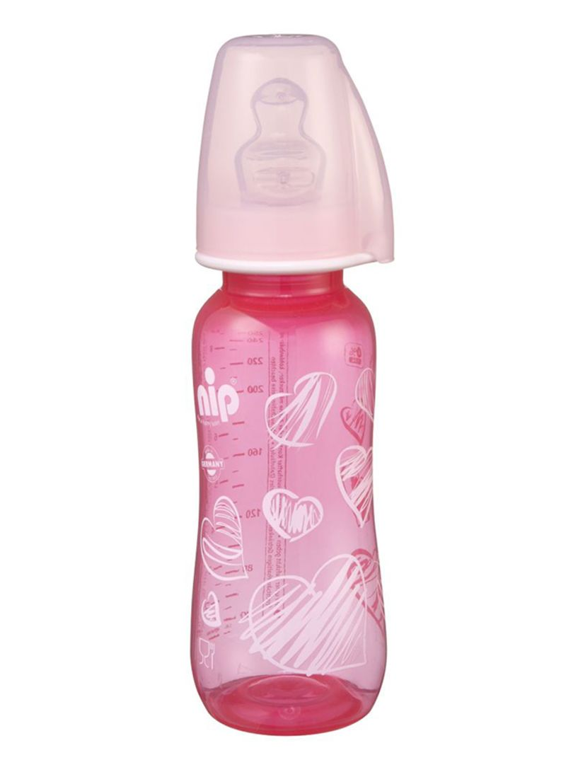 Drbrowns Wide Neck Gift Set Pp Baby Bottle Pink Wb933