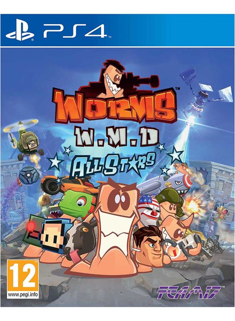 Worms WMD All Stars - PlayStation 4
