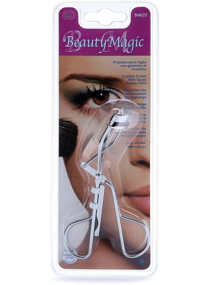 Shop Beauty Magic Eyelash Curler Silver Online In Dubai Abu Dhabi