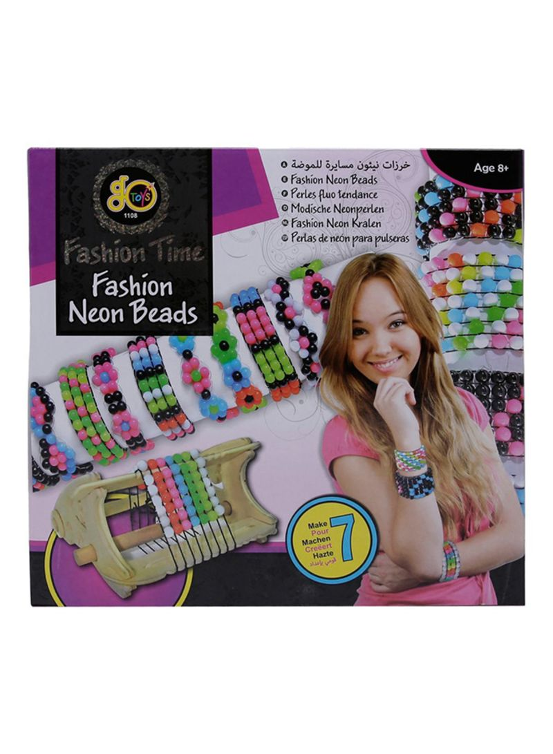 25f051f00a7217 Shop go Toys Fashion Time Neon Beads online in Dubai