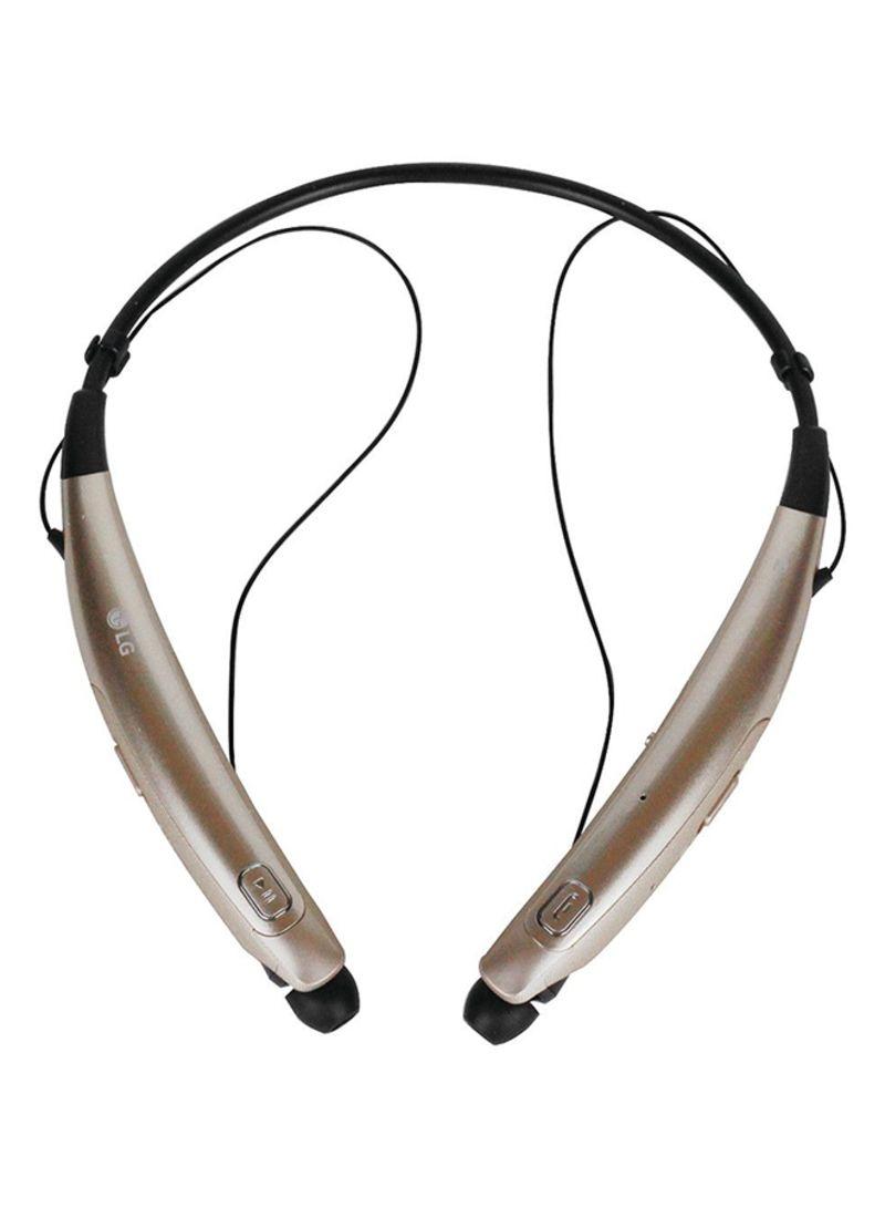 65b4b823baf Shop LG Tone Pro HBS-770 Wireless Stereo Headet Gold online in ...