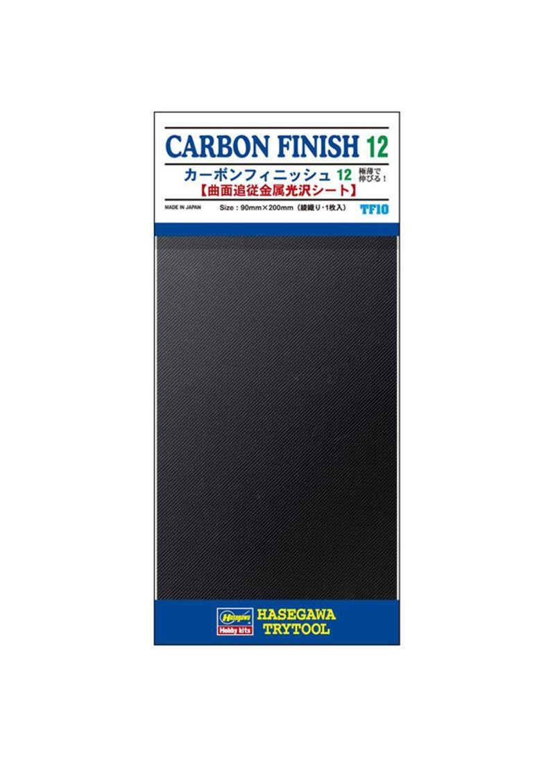 90 x 200mm Hasegawa TF-10 Carbon Finish 12