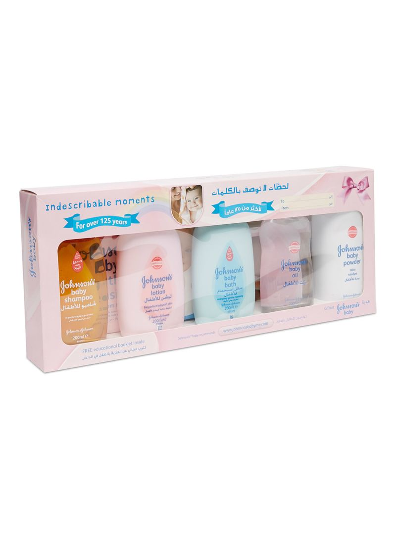 39d1ae86d Shop Johnson & Johnson New Baby Assorted Gift Box online in Dubai ...