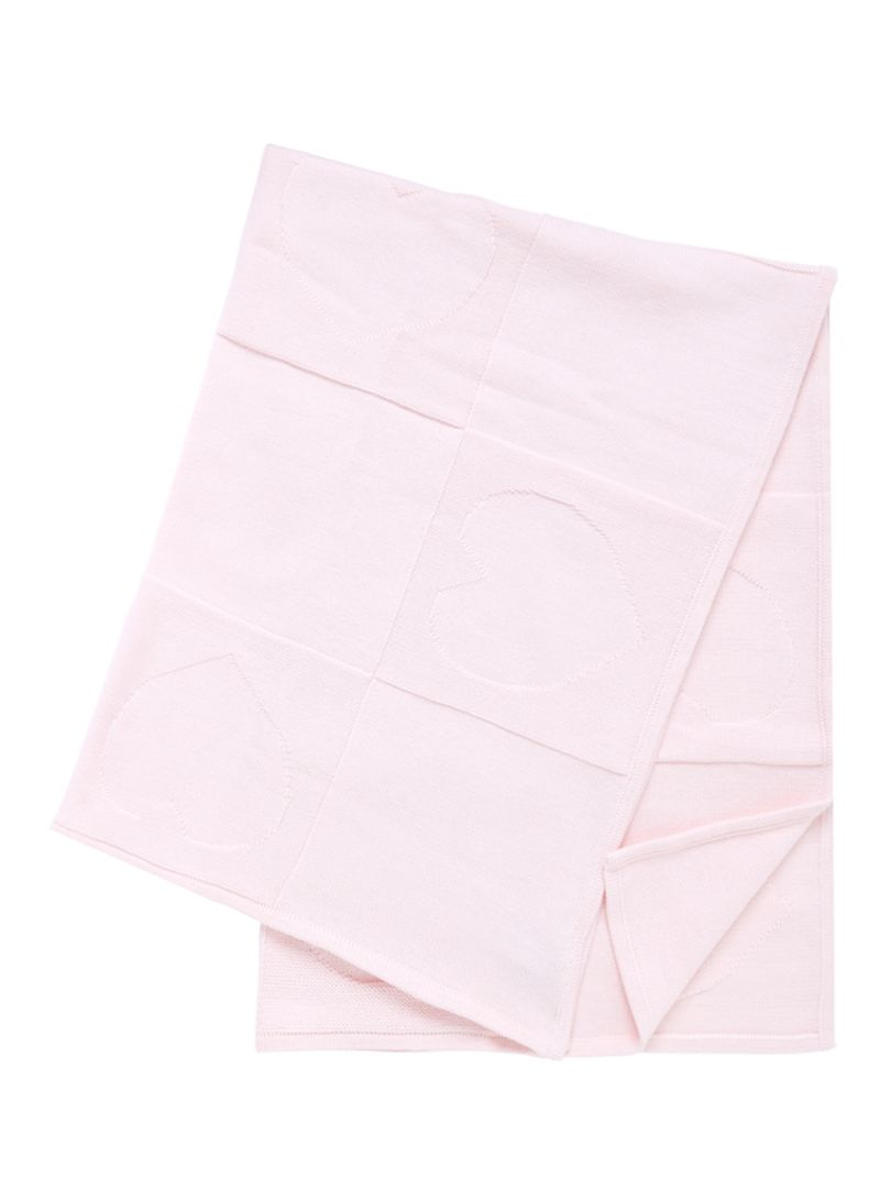 5735b1a2e4db1 Shop mothercare Pink Knitted Patchwork Shawl online in Dubai