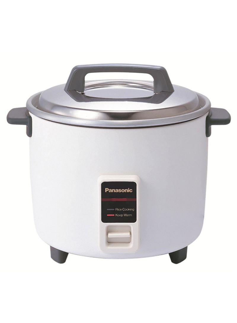 98c29611a3d Shop Panasonic Rice Cooker 1.8L SRW18G White online in Riyadh ...
