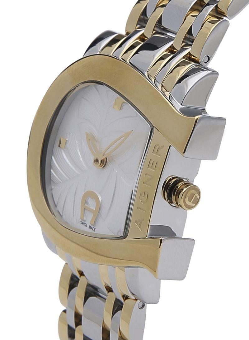 Shop Aigner Womens Genua Due Stainless Steel Watch M A31655 Online Women