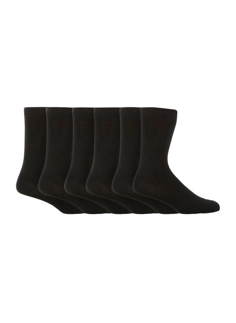 499f3ebc84 Shop Debenhams Basics Pack Of 7 Socks Black online in Dubai