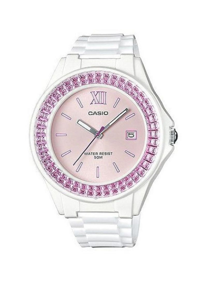 d47d8fb01 Shop Casio Women's Analog Quartz Watch LX-500H-4EVDF online in ...