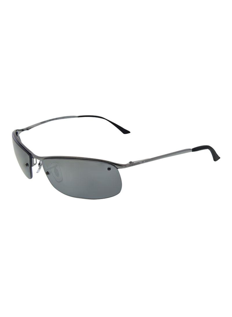 d288b08913b Men s Polarized Rectangle Frame Sunglasses RB3183-004 82-63 ...