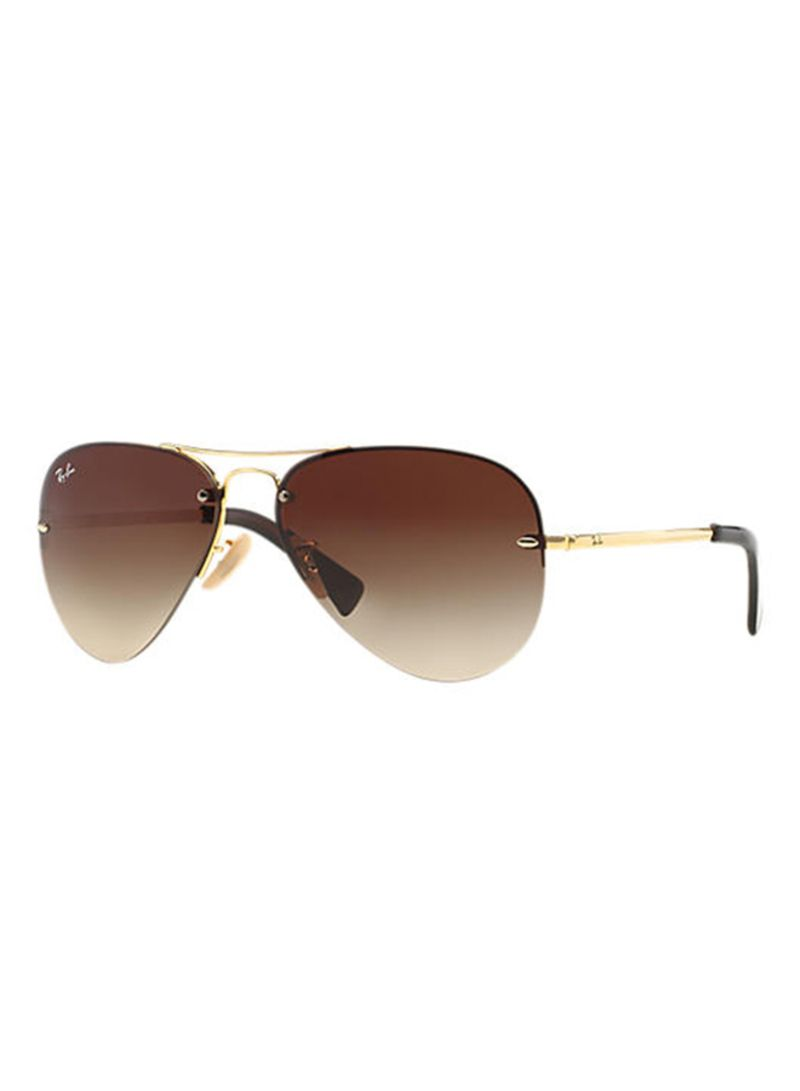 06900d71aa Buy Polarized Aviator Sunglasses RB3449 001 13 in UAE