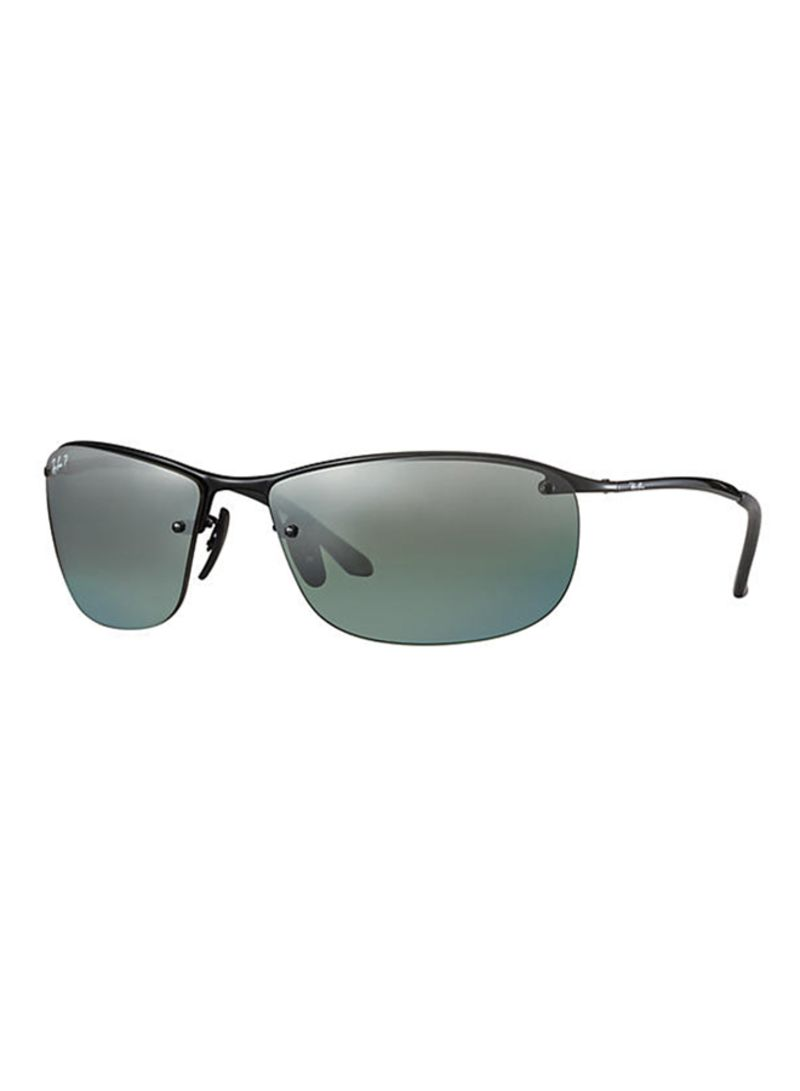 b18a94178e Shop Ray-Ban Chromance Polarized Wrap Sunglasses RB3542 online in ...