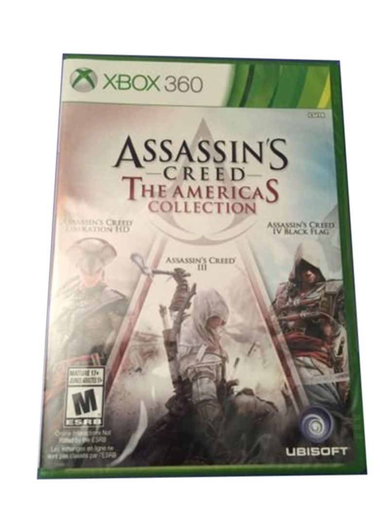 Shop Ubisoft Assassins Creed The Americas Collection Xbox 360