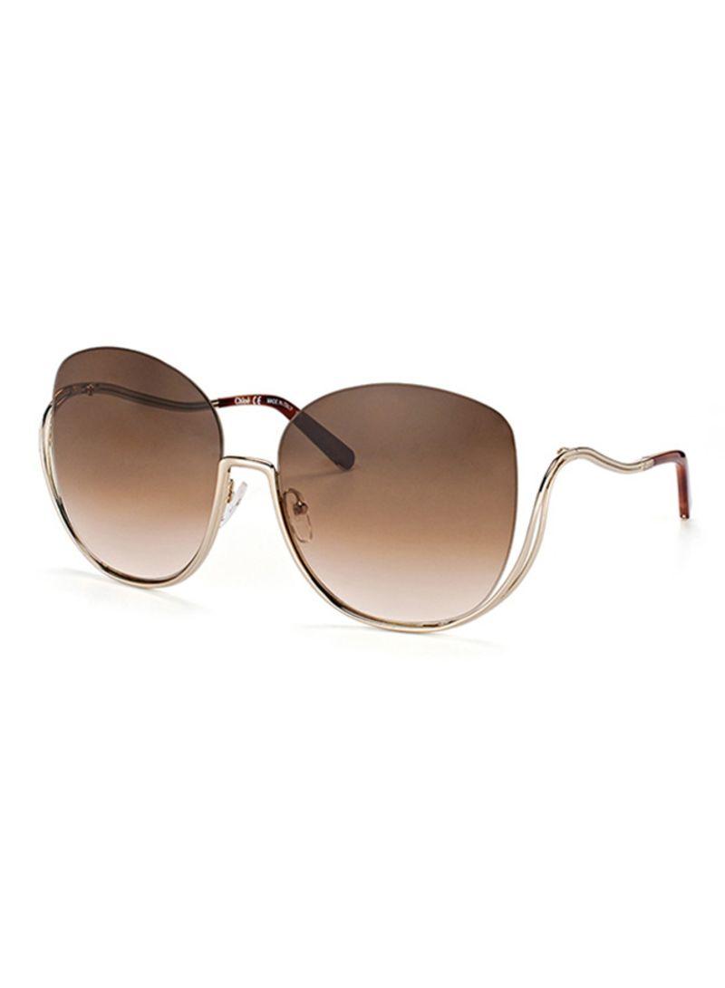 d6cf98a9 Shop CHLOE Women's Oversized Sunglasses 125S MILLA 757 online in Dubai, Abu  Dhabi and all UAE