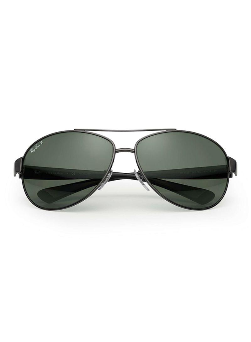 087c43ff04a889 otherOffersImg v1506417285 N12183156A 1. Ray-Ban. Polarized Wrap Aviator Sunglasses  RB3386 004 9A