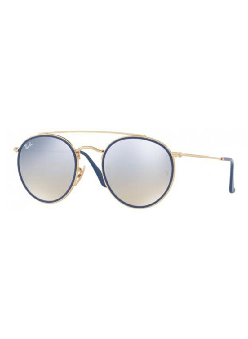 3ebe277f1f Buy Double Bridge UV Protection Round Sunglasses 001 9U RB3647N in UAE