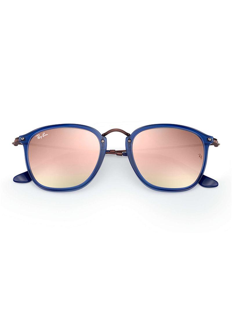 edfaa9a1ed Shop Ray-Ban Flat Fibre Rims Round Sunglasses 62547O RB2448N online ...