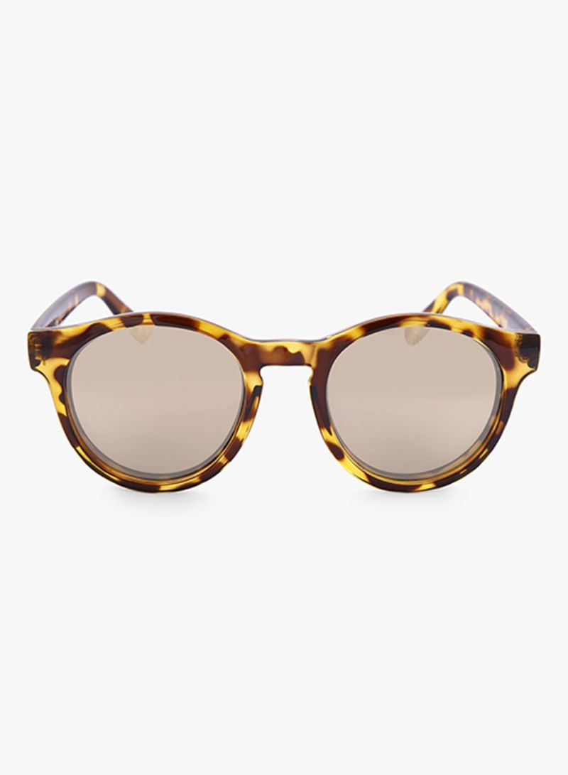 f632287609 Shop Le Specs Women s Hey Macarena Round Sunglasses LSP1402037 ...