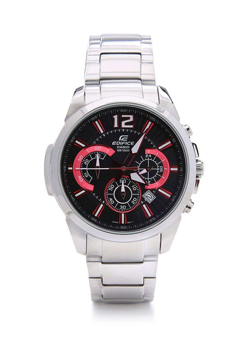 Mens Edifice Analog Watch Efr 535d 1a4vudf Watches Casio 543d Stainless Silver Chrono Men