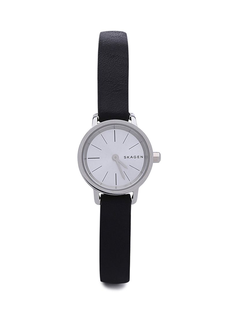 207732299b52 Shop Skagen Women s Hagen Leather Strap Analog Watch SKW2361 online ...