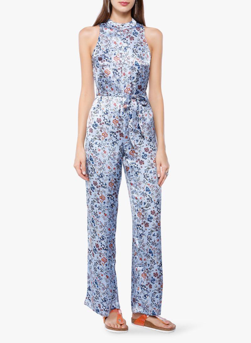 3e993be7185 Printed Jumpsuit Blue Price in Saudi Arabia