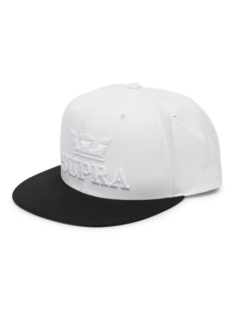 Shop SUPRA Above Snap White Black online in Riyadh 03c0bc5c2ae
