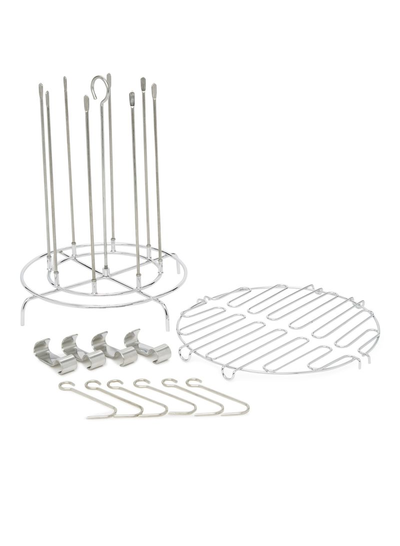 22 Piece The Easy Turkey Fryer Accessory Kit Silver