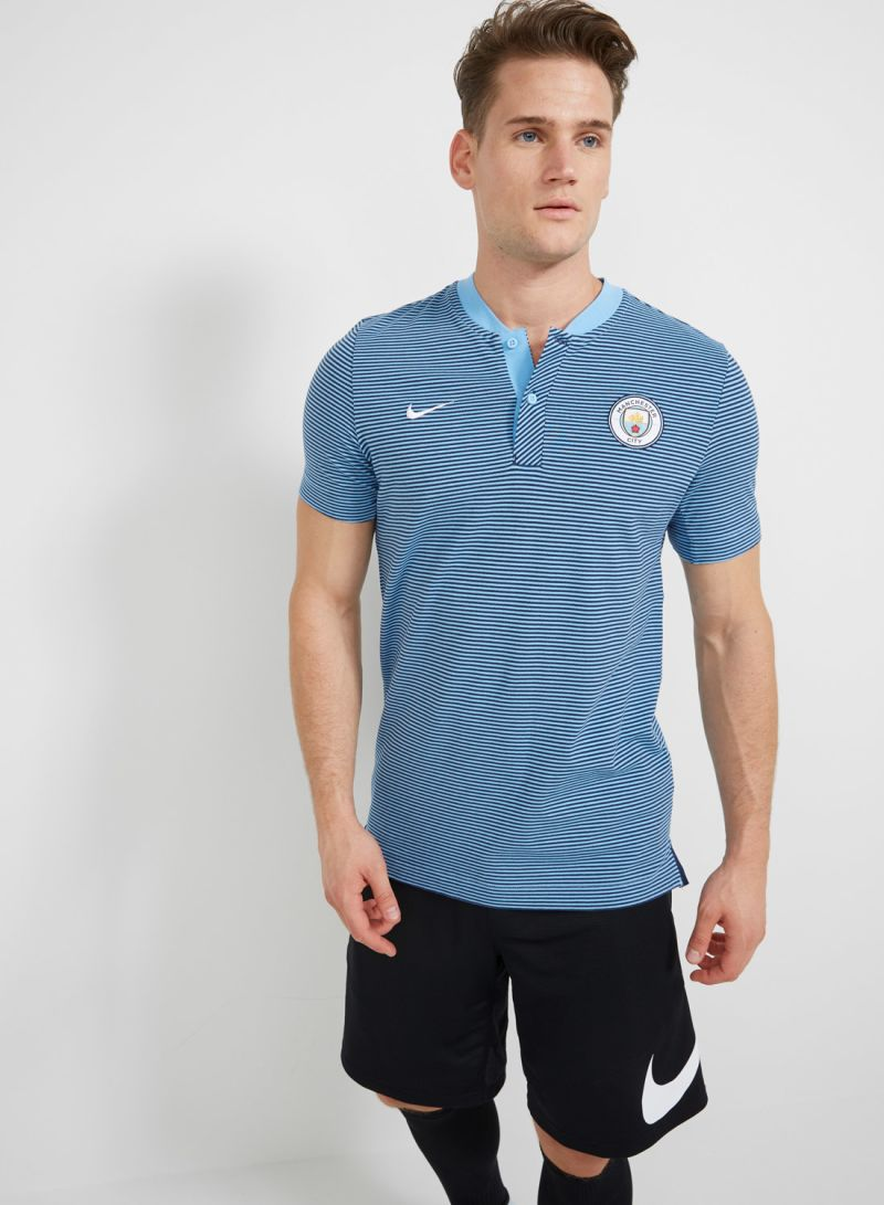 f9d56843 Manchester City FC NSW Modern Grand Slam Authentic Polo Blue Price ...
