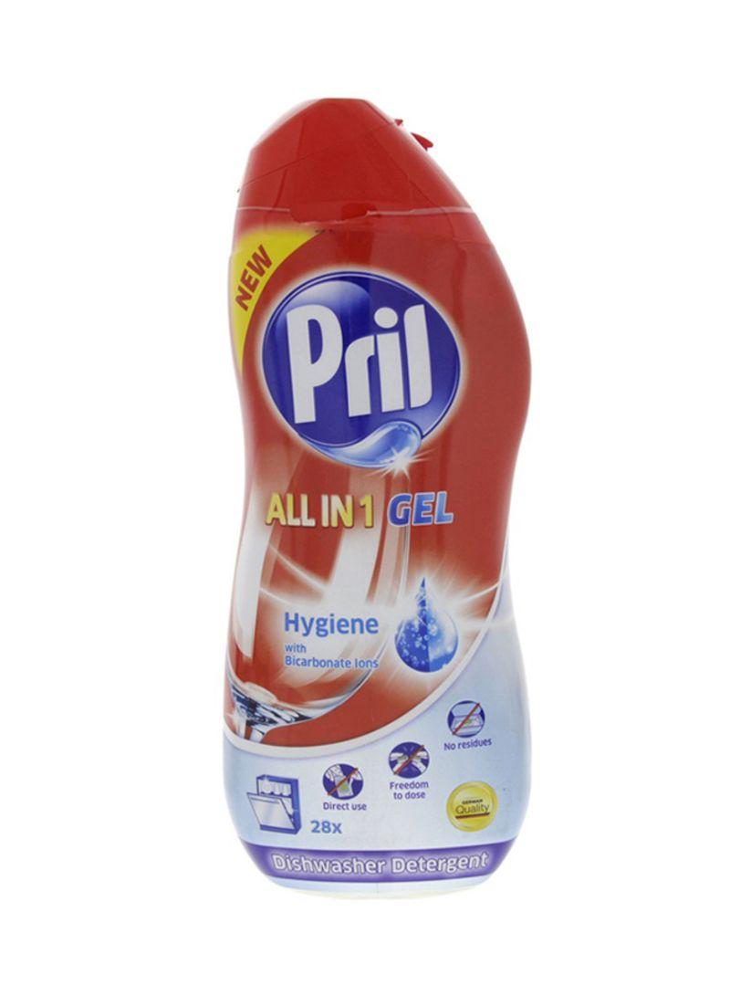 All In One Hygiene Gel Dishwasher Detergent Multicolour 1L