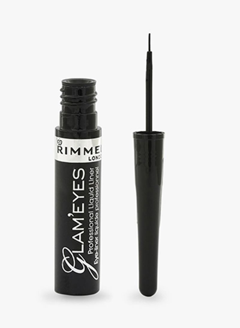 89e6c03c84c otherOffersImg_v1506700303/N12200114A_1. RIMMEL LONDON. Glam'eyes  Professional Liquid Eyeliner Black