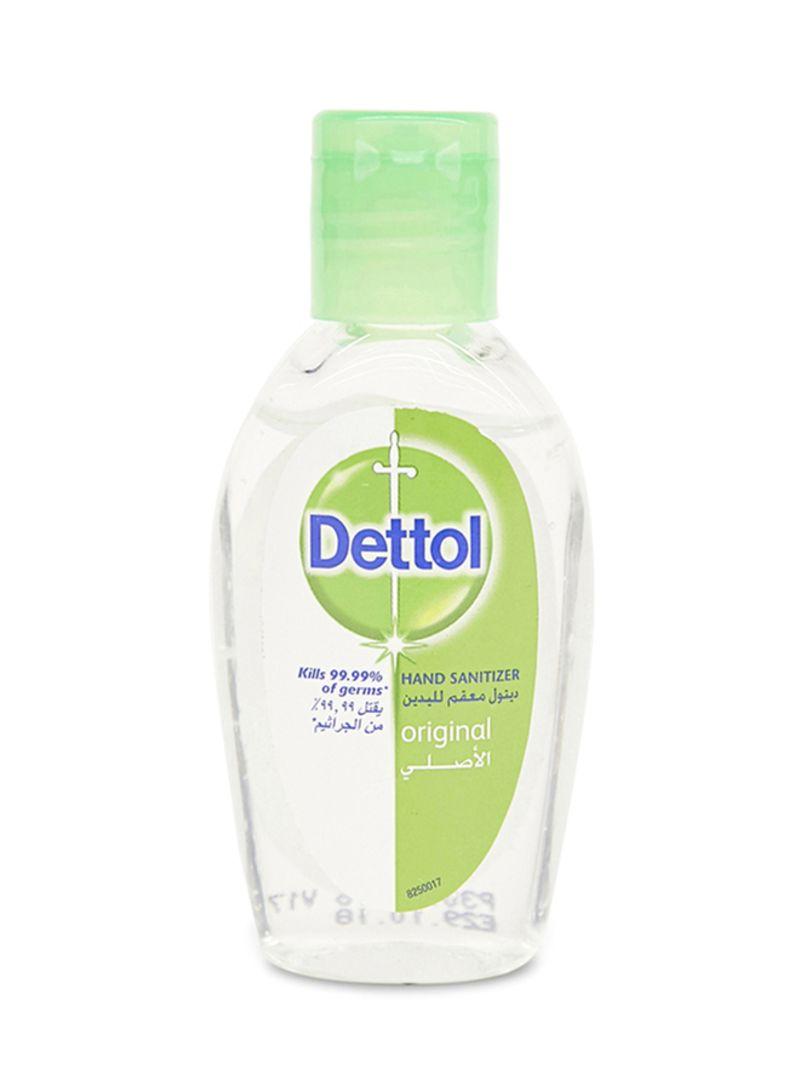 Dettol Skin Care Anti Bacterial Instant Hand Sanitizer 50 Ml Original 4 Pcs