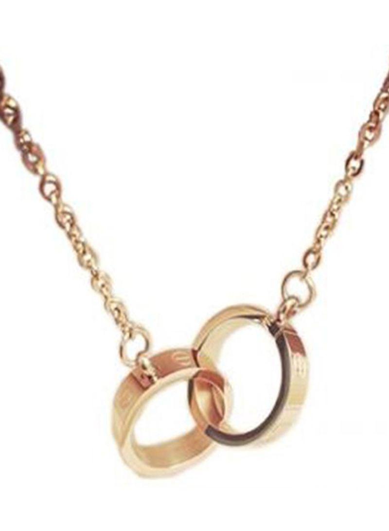 Lovely Rose Gold Necklace Rose Gold Price In Uae Noon Uae Kanbkam