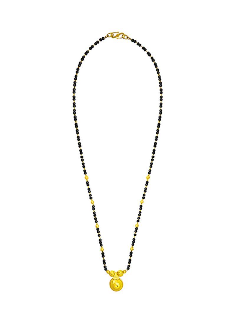 Shop Shining Jewel Traditional Maharashtrian Vaati Design Mangalsutra Sj 2212 Online In Dubai Abu Dhabi And All Uae
