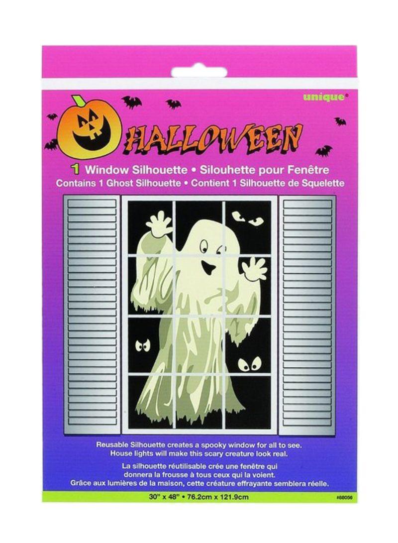 Shop Unique Skeleton Silhouette Halloween Window Decoration